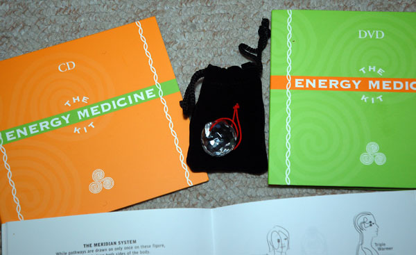 The Energy Medicine Kit by Donna Eden (2005, Kit / Mixed Media) - Brand New!!