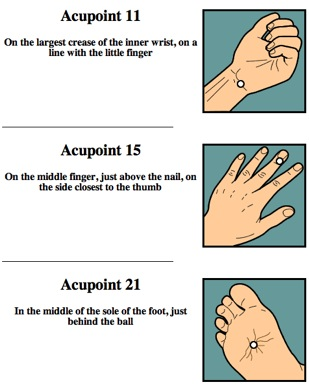 anxiety acupressure