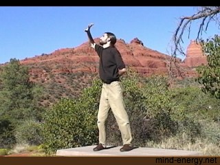 Shot from the whole qigong sequence: